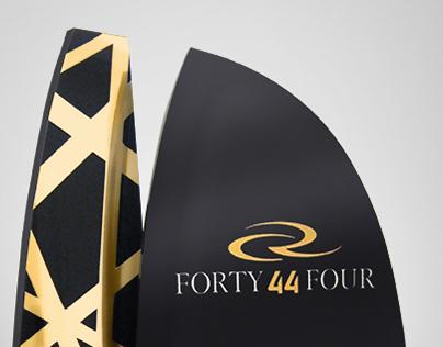Award Design: RC44 Championship Tour 2014