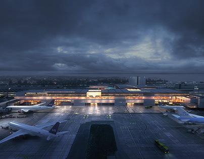 Copenhagen Airport new terminal