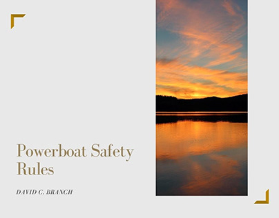 Powerboat Safety Rules