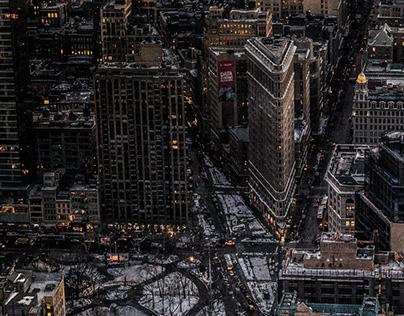 NY: A winter evening
