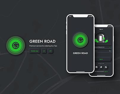 Green Road | Eco Taxi iOS App
