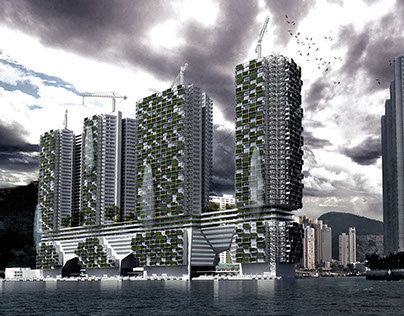Forgotten City - Floating village - Aberdeen, Hong Kong