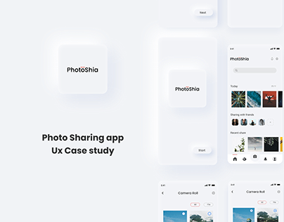 Photo Sharing App Ux Case Study