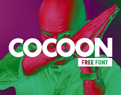 Cocooning - Free Font - Inspired by Sven Vath