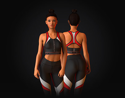 Activewear 3D Design + Render Showcase - #1