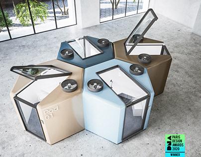 Qworkntine: Winner of DNA Paris 2020 Design Award