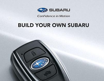 Subaru Build your own