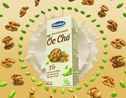 Vinamilk Walnut soymilk 2018