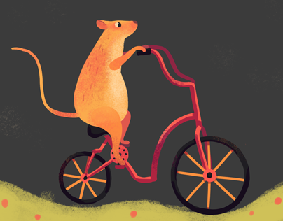 Cycling mouse