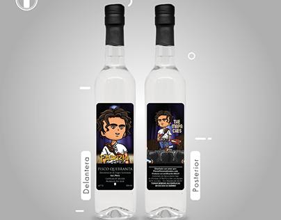 Botellas personalizadas con ilustraciones