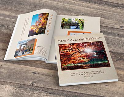Fall Digital Memory Flipbook (sample pages)