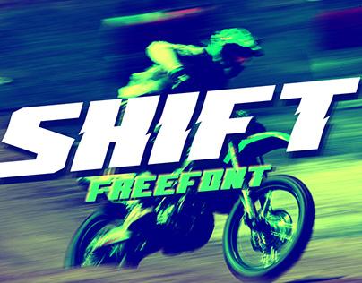 Shift Free Font