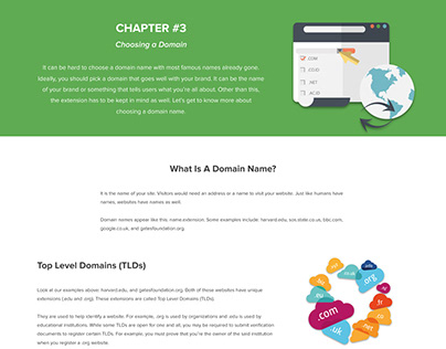 Web Hosting 101 Infographic - Chapter 2 (Domain Name)
