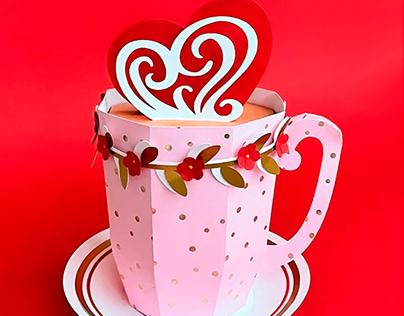 Paper Mug Gift Box