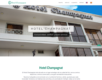 Web Hotel Champagnat