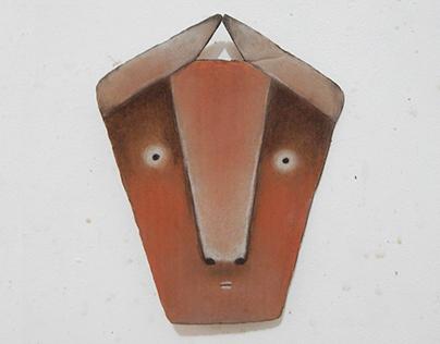 cardboard masks