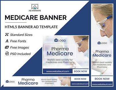 Medicare Banner- HTML5 Ad Templates