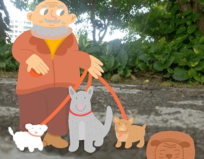 the lord of the dogs/el señor de los perros