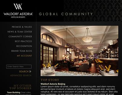 Waldorf Astoria & Conrad Hotels Communities