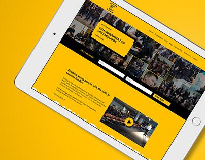 Website Design & Development - Rocking Ur Teens