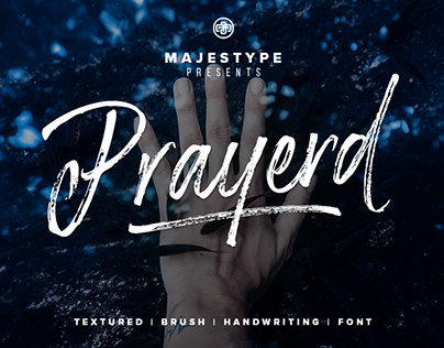 Prayerd Typeface