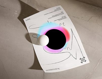 Smoke&Sound. Logo & visual identity V party.