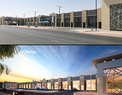 Alsoliman Mall Exterior Design