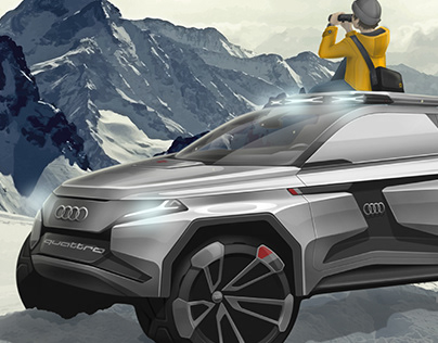 Audi e-Qx | Off-Road electric SUV