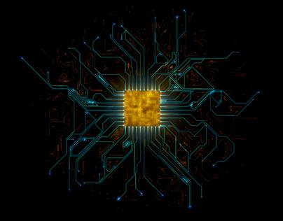 4K Brain Microprocessor Hardware Connections AI (COPY)