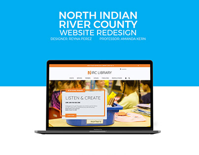 North Indian River County Website Redesign