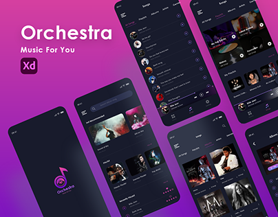 Orchestra Music Application