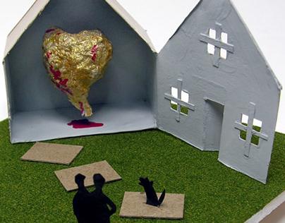 Home Is Where Golden Bleeding Heart Lives