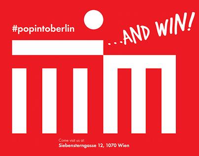 #popintoberlin / Vienna 2015