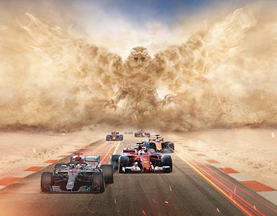 Formula One Grand Prix Sakhir Circuit.