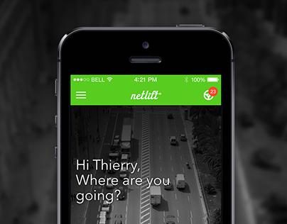 Netlift - Carpooling and commuting app