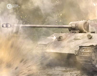 Last Stand | German Panther Ausf A 3D paint over