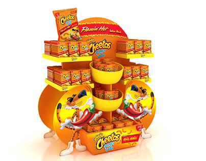 Cheetos puffs displays