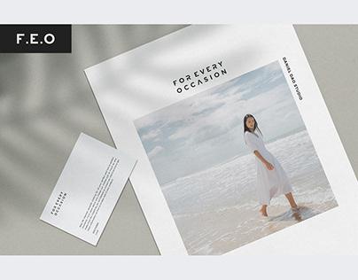 BRAND | F.E.O - Brand identity