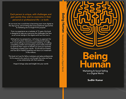 Being Human – Book Cover Design