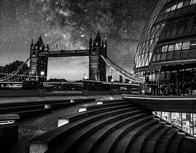 London in black & white