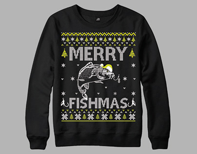 Merry Christmas Sweater Design