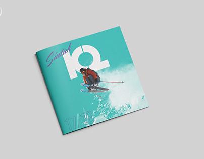 K2. Ski tours brochure.