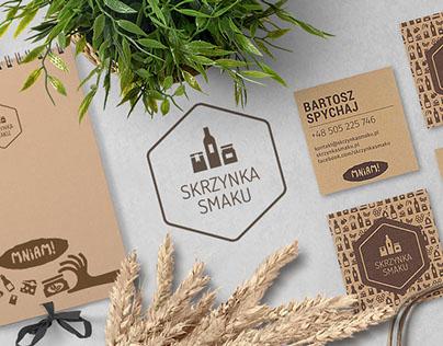 SKRZYNKA SMAKU branding