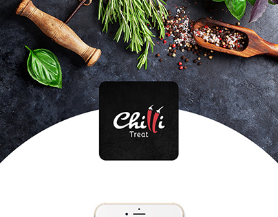 Chilli Treat | Food App Concept | Interaction