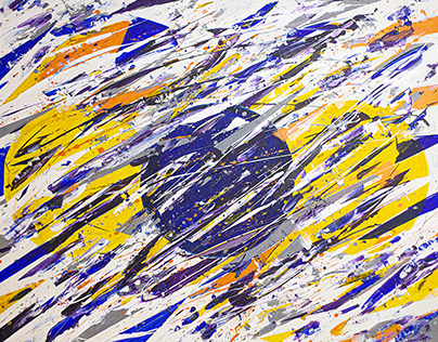 SIZIGIA, ABSTRACT PAINTING BY ALLEN PEDICONE
