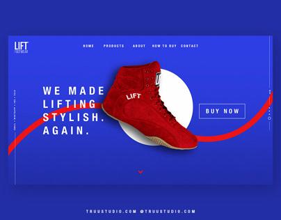 Lift Footwear - UI experiment