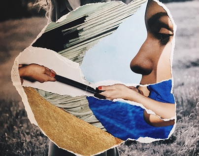 Collages and typography