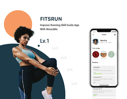 FITSRUN - Wearable Running Guide App
