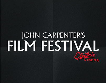 John Carpenter Film Festival Posters
