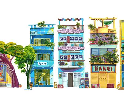Vietnam Little Quarters
